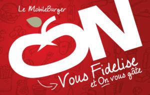 Carte de fidélité du Mobile Burger