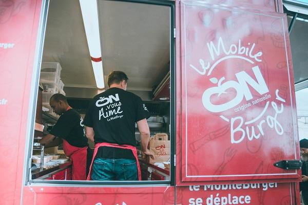 food truck mobile burger