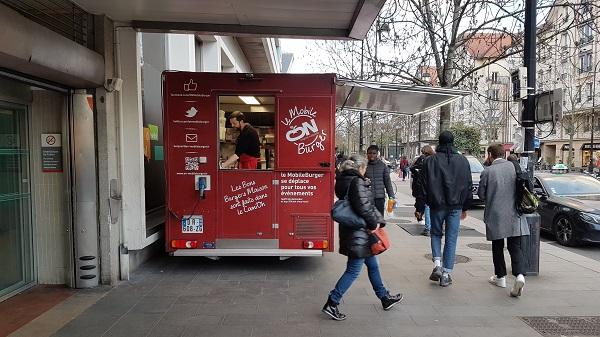 food truck sortie RER Le Parc St Maur